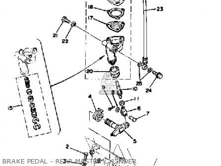 Yamaha Xs400f 1979 parts list partsmanual partsfiche