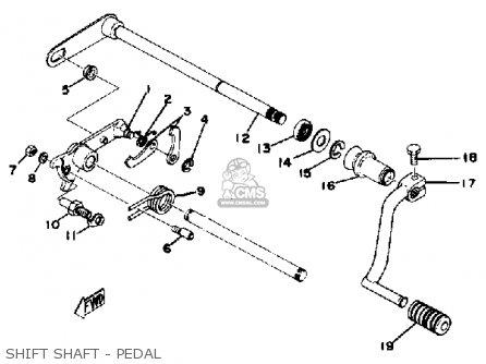Yamaha Xs400g 2 Special 1980 parts list partsmanual partsfiche