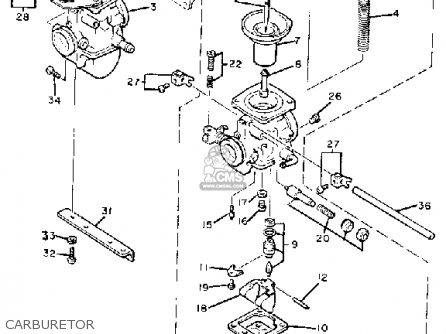 Yamaha XS400R SECA 1982 (C) USA parts lists and schematics