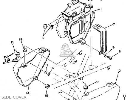 Yamaha Xs400s 1981 (b) Usa parts list partsmanual partsfiche