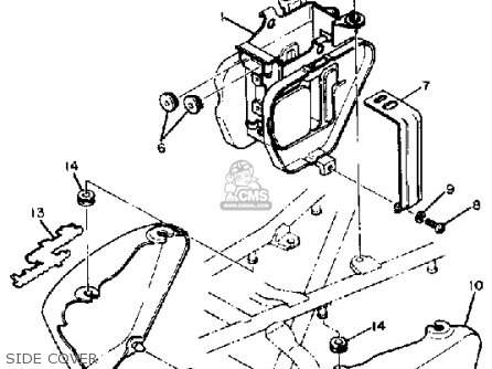Yamaha Xs400s 1982 Heritage Usa parts list partsmanual