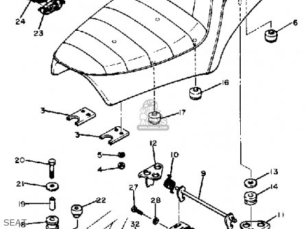 Yamaha Xs400s Heritage 1982 (c) Usa parts list partsmanual