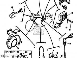 Yamaha Xs500 1976 1h2 Europe 1h228-198e5 parts list