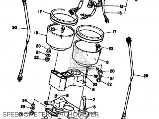 Yamaha XS500 1976 1H2 EUROPE 1H228-198E5 parts lists and