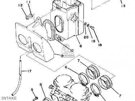 Yamaha XS500 1977 USA parts lists and schematics