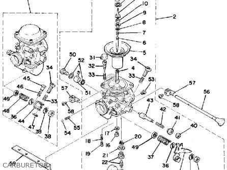 Yamaha XS500 1978 USA parts lists and schematics