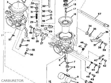 Yamaha Xs500c 1976/1977 parts list partsmanual partsfiche