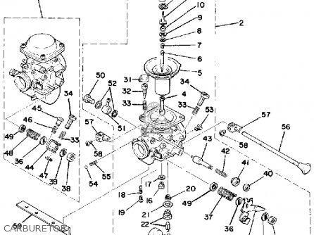 Yamaha Xs500e 1978 parts list partsmanual partsfiche