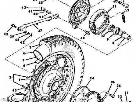 1980 Yamaha Xt250 Wiring Diagram, 1980, Get Free Image