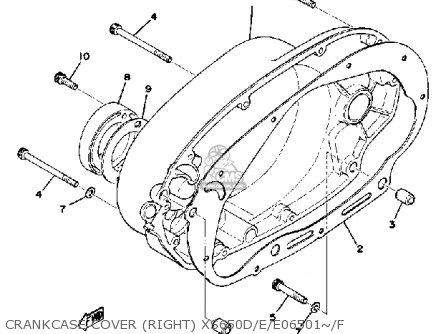 Yamaha Xs650 1978 Usa parts list partsmanual partsfiche