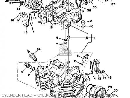 Yamaha XS650 1978 USA parts lists and schematics