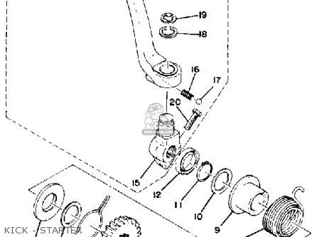 Yamaha XS650 1980 (A) USA parts lists and schematics
