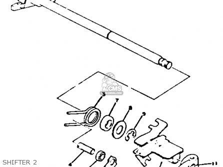 Yamaha Xs650-2 1979 Usa parts list partsmanual partsfiche