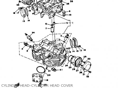 Yamaha XS650S 1979 USA parts lists and schematics