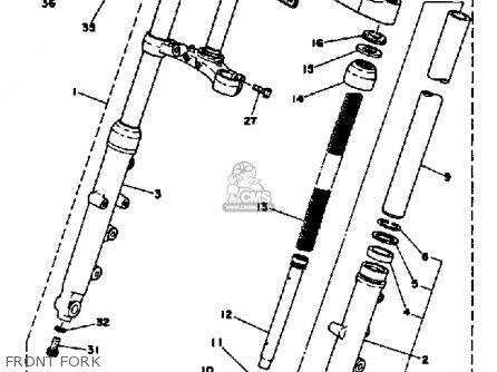 Yamaha Xs650s 1979 Usa parts list partsmanual partsfiche