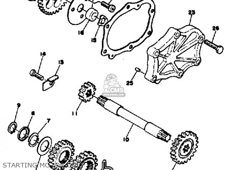 Yamaha Xs650s 1980 (a) Usa parts list partsmanual partsfiche