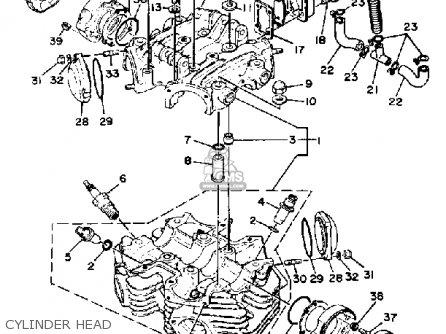 Yamaha XS650S 1981 (B) USA parts lists and schematics