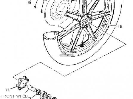 Yamaha Xs650s 1981 (b) Usa parts list partsmanual partsfiche