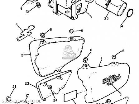 Yamaha Xs650s Heritage 1982 (c) Usa parts list partsmanual