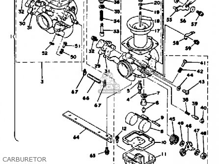 Yamaha Xs650se 1978-1980 parts list partsmanual partsfiche