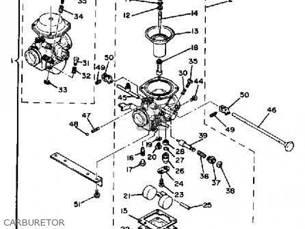 Yamaha Xs650se 1978-1980 parts list partsmanual partsfiche