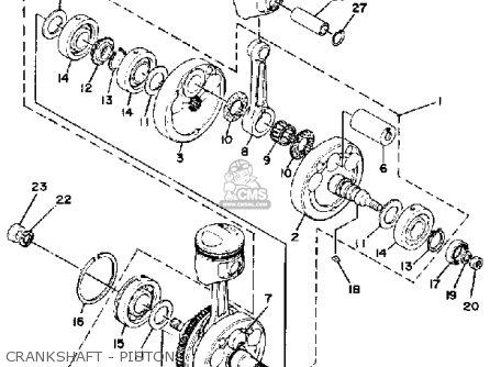 Yamaha Xs650sh 1981 parts list partsmanual partsfiche