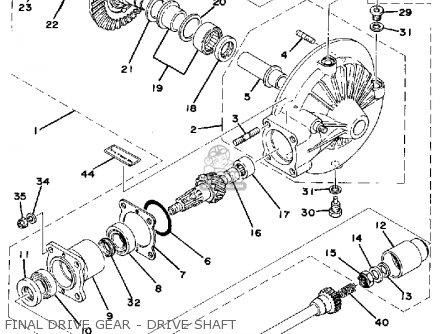 Yamaha Xs750 1977 Usa Canada parts list partsmanual partsfiche