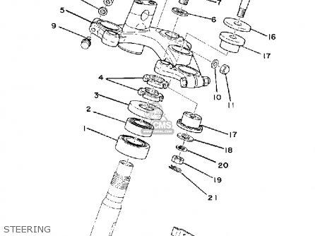 Yamaha Xs750 1977 Usa Canada parts list partsmanual partsfiche