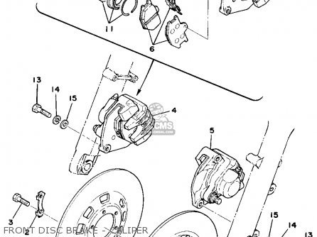 Yamaha Xs750 1978 Usa Canada parts list partsmanual partsfiche