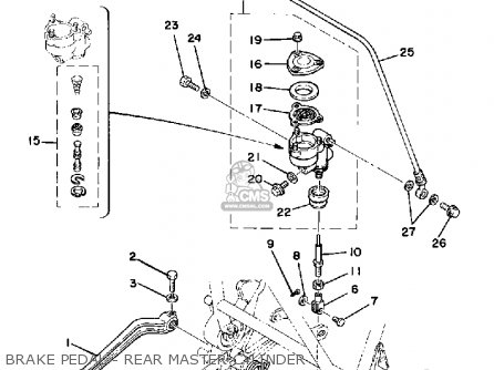 Yamaha Xs750 1979 Usa Canada parts list partsmanual partsfiche
