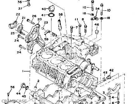 Yamaha Xs750-227501 1978 Usa parts list partsmanual partsfiche