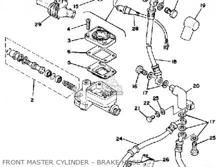 Yamaha Xs750-227501 1978 Usa parts list partsmanual partsfiche