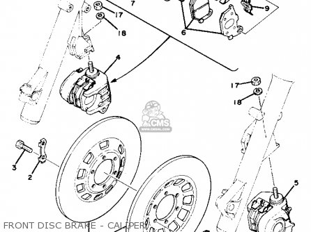 Yamaha Xs750s 1978 Usa Canada parts list partsmanual