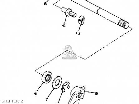 Yamaha Xs750s 1979 Usa parts list partsmanual partsfiche