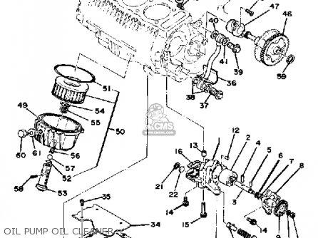 Yamaha XS750S-311211 1979 USA parts lists and schematics