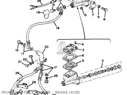 Yamaha Xs750se 1978 parts list partsmanual partsfiche