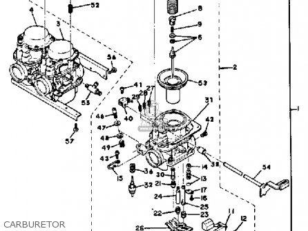 Yamaha XS850 1980 (A) USA parts lists and schematics