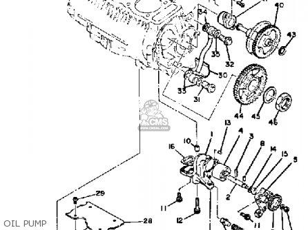 Yamaha Xs850 1980 (a) Usa parts list partsmanual partsfiche