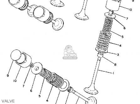 Yamaha XS850 1981 (B) USA parts lists and schematics