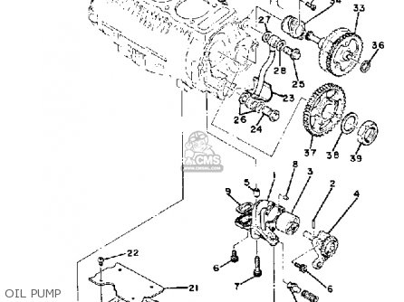 Yamaha XS850L 1980 (A) USA parts lists and schematics