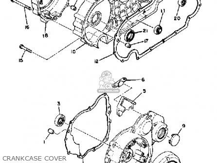 Yamaha Xs850l 1981 (b) Usa parts list partsmanual partsfiche