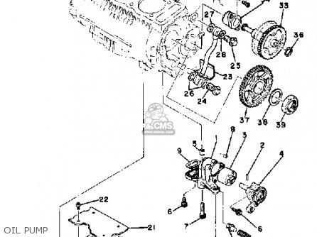 Yamaha Xs850lh 1981 parts list partsmanual partsfiche