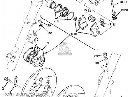 Yamaha Xs850s 1980 (a) Usa parts list partsmanual partsfiche