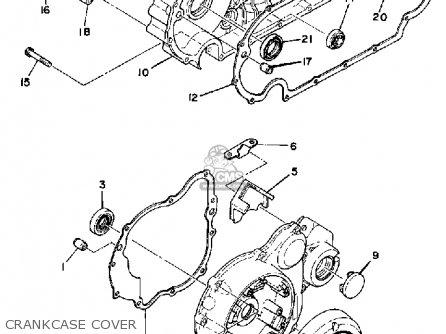 Yamaha Xs850s 1981 (b) Usa parts list partsmanual partsfiche