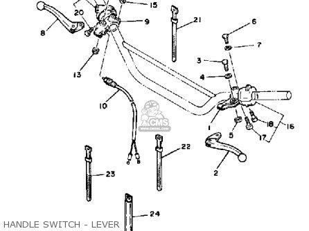 Yamaha Xt125 Dual Purpose 1983 (d) Usa parts list