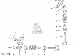 Yamaha XT125R 2005 3D61 ENGLAND 1D3D6-300E1 parts lists