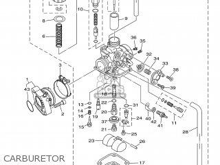 Yamaha XT125R 2005 3D61 EUROPE 1D3D6-300E1 parts lists and