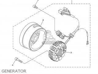 Yamaha XT125R 2007 13D1 ENGLAND 1F13D-300E1 parts lists