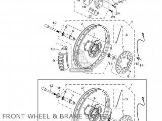 Yamaha XT125X 2005 3D62 EUROPE 1D3D6-300EA parts lists and