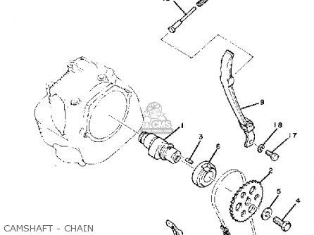 Yamaha Xt200j Dual Purpose 1982 parts list partsmanual